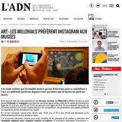 Art : les millenials préfèrent Instagram aux musées - Etude Marketing