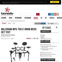 Millenium MPS-750 E-Drum Mesh Set Test - Seite 2