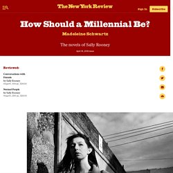 How Should a Millennial Be?