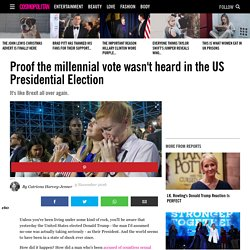 Proof the millennial vote wasn't heard in the US Presidential Election