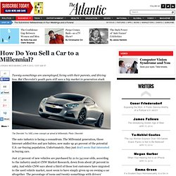 How Do You Sell a Car to a Millennial? - Jordan Weissmann - Business