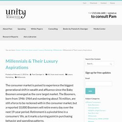 Millennials & Their Luxury Aspirations