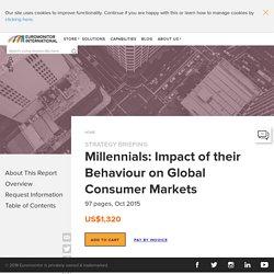 Millennials: Impact of their Behaviour on Global Consumer Markets