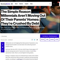 The Simple Reason Millennials Aren't Moving Out Of Their Parents' Homes: Th
