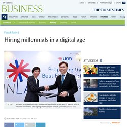 Hiring millennials in a digital age, Banking News