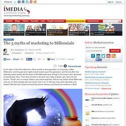 The 5 myths of marketing to Millennials (single page view)