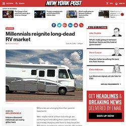 Millennials reignite long-dead RV market