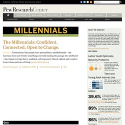 Millennials: A Portrait of Generation Next – Pew Research Center