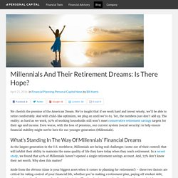 Millennials and Retirement – Is There Hope?