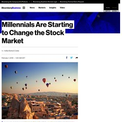 Millennials Are Starting to Change the Stock Market