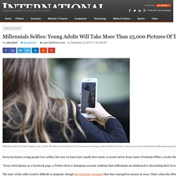 Millennials Selfies: Young Adults Will Take More Than 25,000 Pictures Of Themselves During Their Lifetimes: Report