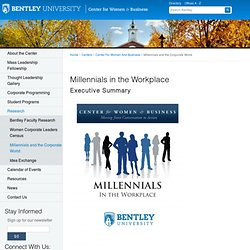 Centers at Bentley University