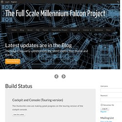 The Full Scale Millennium Falcon Project | Don't worry, she'll hold together…