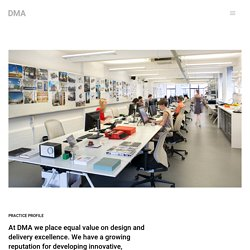 DMA David Miller Architects - Practice