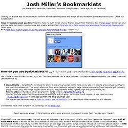 Miller Marklets