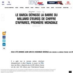 Le Barca dépasse la barre du milliard d'euros de chiffre d'affaires, première mondiale