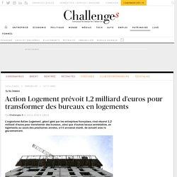 1,2 milliard d'euros pour transformer des bureaux en logements
