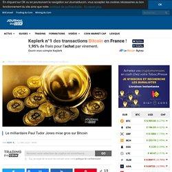 Le milliardaire Paul Tudor Jones mise gros sur Bitcoin