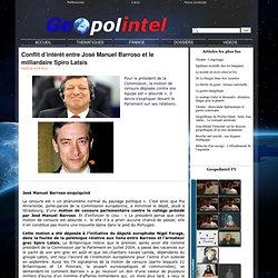 Conflit d'intérêt entre José Manuel Barroso et le milliardaire Spiro Latsis
