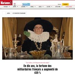 En dix ans, la fortune des milliardaires français a augmenté de 439 %