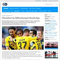 Überleben im Milliardenspiel Bundesliga