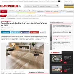Tarkett lorgne 3,5 milliards d'euros de chiffre d'affaires en 2020 - 27/10/16