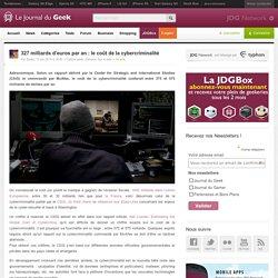 327 milliards d'euros par an : le coût de la cybercriminalité
