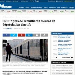 SNCF: plus de 12 milliards d'euros de dépréciation d'actifs