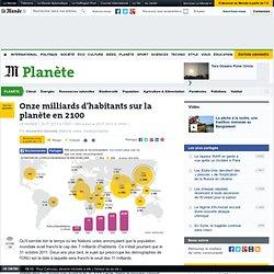 Onze milliards d'habitants sur la planète en 2100