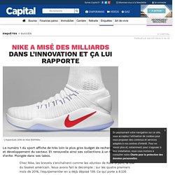 Nike a misé des milliards dans l'innovation et ça lui rapporte