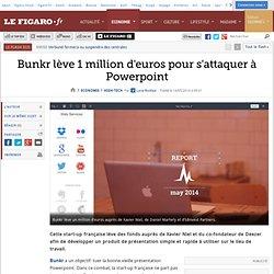 Bunkr lève 1 million d'euros pour s'attaquer à Powerpoint