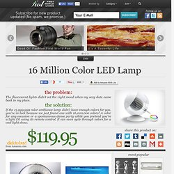 16 Million Color LED Lamp