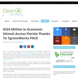 $324 Million In Economic Stimuli Across Florida Thanks To YgreneWorks PACE