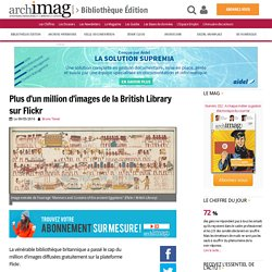 Plus d'un million d'images de la British Library sur Flickr