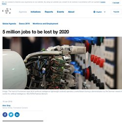 5 million jobs to be lost by 2020