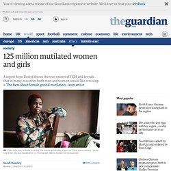 125 million mutilated women and girls