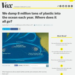 We dump 8 million tons of plastic into the ocean each year. Where does it all go?