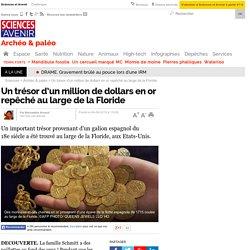 Un trésor d'un million de dollars en or repêché au large de la Floride