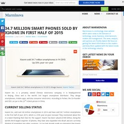 34.7 Million SmartPhones Sold By Xiaomi In First Half Of 2015