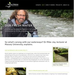 How clean are our waterways?