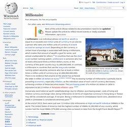 Millionaire - Wikipedia