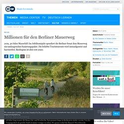 Millionen für den Berliner Mauerweg