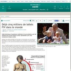 Déjà cinq millions de bébés FIV dans le monde