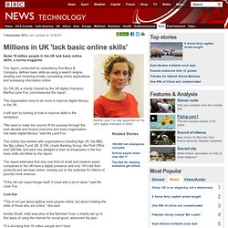 Millions in UK 'lack basic online skills'