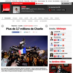 Plus de 3,7 millions de Charlie