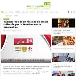 Plus de 27 millions de dinars collectés par le Téléthon sur le coronavirus