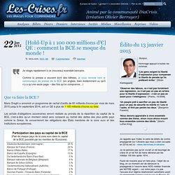 » [Hold-Up à 1 100 000 millions d'€] QE : comment la BCE se moque du monde !
