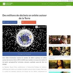 Des millions de déchets en orbite autour de la Terre