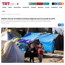 UNICEF: Près de 19 millions d'enfants déplacés dans le monde en 2019
