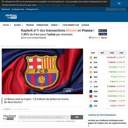 Le Barça vend sa crypto : 1,3 millions de dollars en moins dedeuxheures!